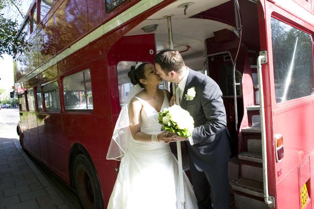 The Kiss - Geetha and Matt, London - 2009